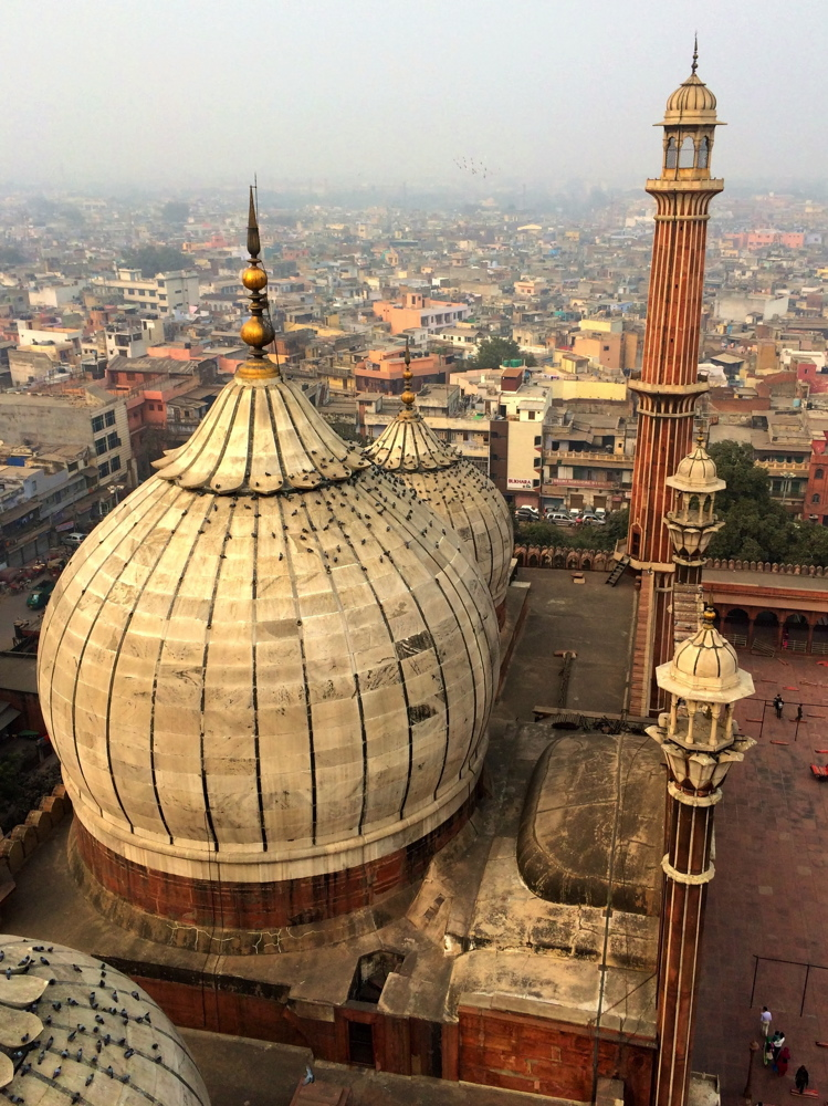 Jama Masjid à Old Delhi