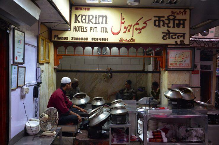 Karim restaurant à Old Delhi