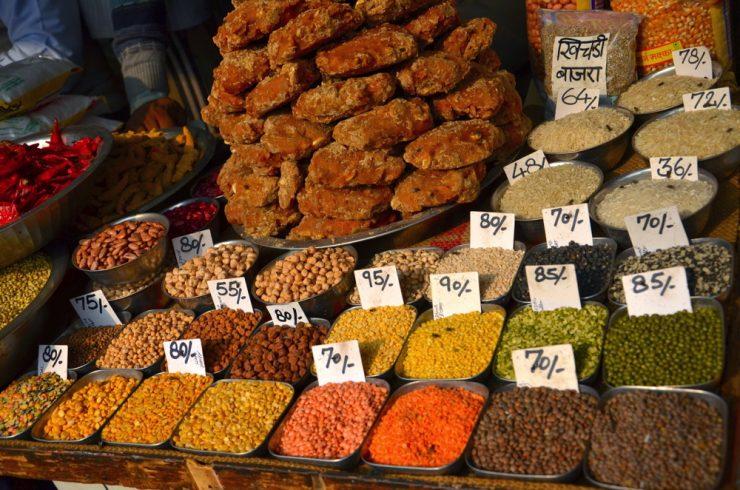Khari Baoli, spice market of Old Delhi