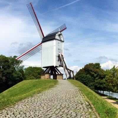 Moulin à Bruges: koeleweimolen