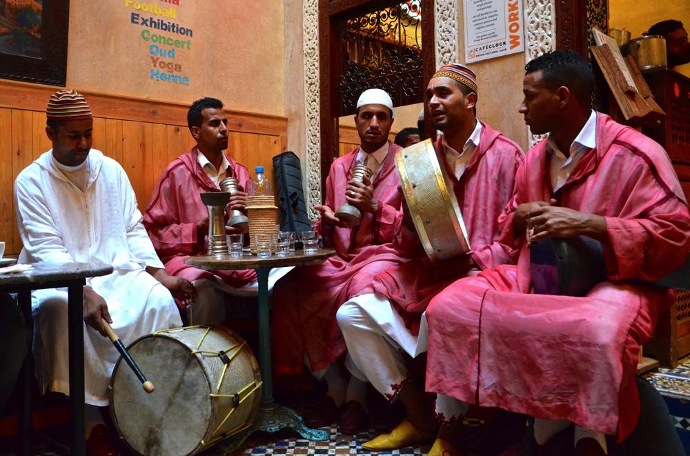 Musique traditionnelle à Fès