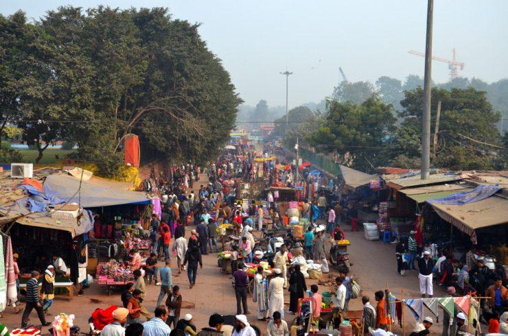 Old Delhi en Inde