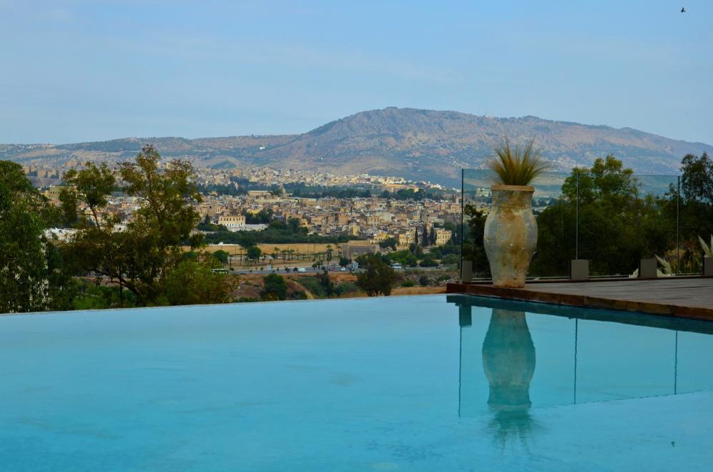 Fez lyautey residence sahrai hotel 5 100 mdh for Hotel fes piscine
