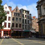 Place dans le centre historique d'Anvers