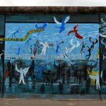 Street art à l'East Side Gallery