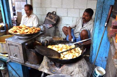Street food à Old Delhi