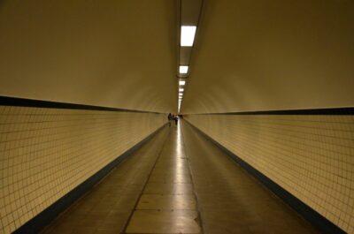 Tunnel Saint Anne à Anvers