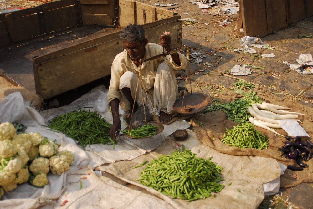 Vendeur à Old Delhi
