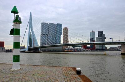Pont Erasme à Rotterdam