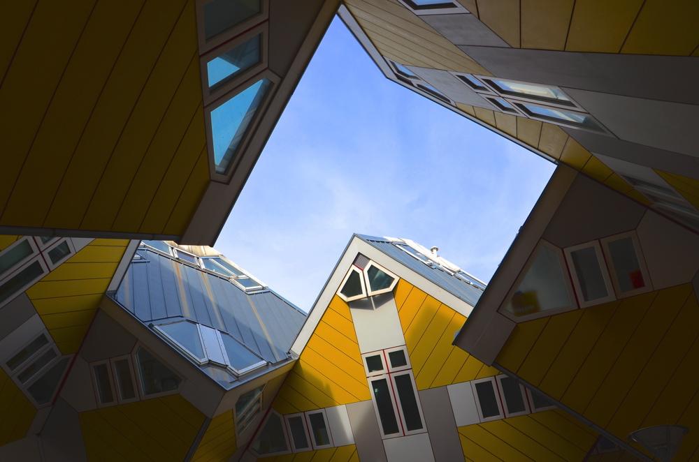 Cube houses à Rotterdam