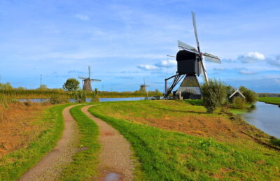Balade à Kinderdijk