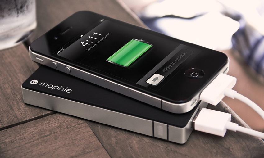 Batterie externe en voyage