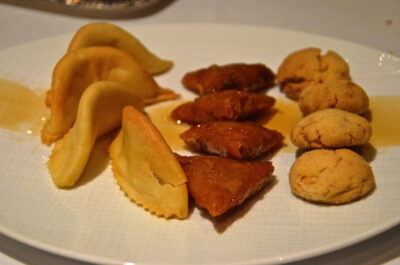 Gâteaux marocains à l'hôtel Sahrai