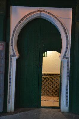 Porte d'une mosquée d'Asilah