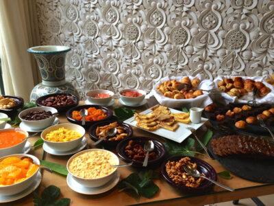 Petit déjeuner à l'hôtel Sahrai à Fès