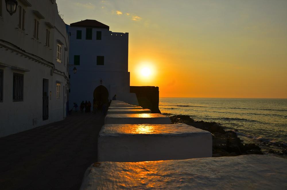 Coucher de soleil à Asilah