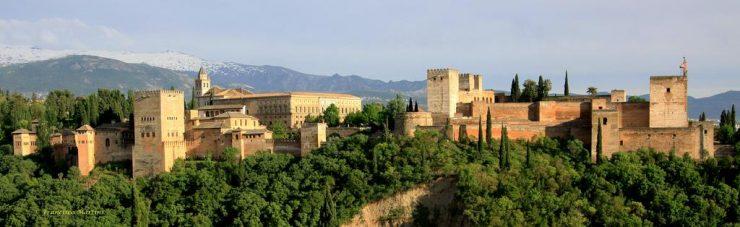 Alhambra de Grenade en Espagne