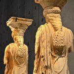 Caryatides au musée de l'Acropole