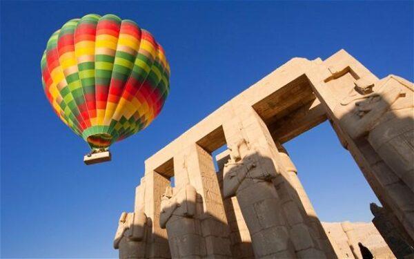 Montgolfière en Egypte