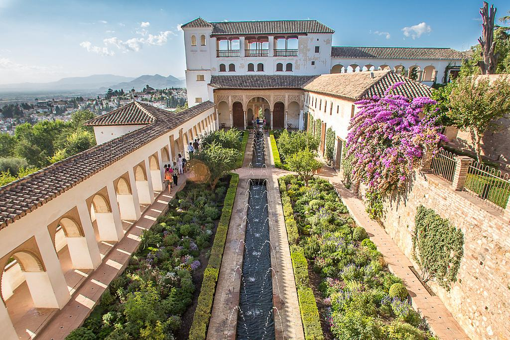 Jardins Generalife à Grenade