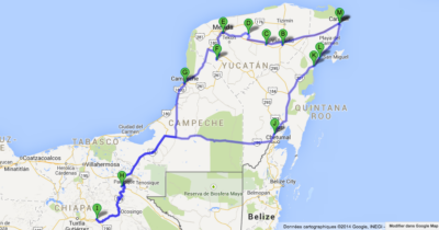 Itinéraire de 3 semaines au Mexique