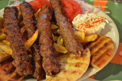 Kebab en Grèce