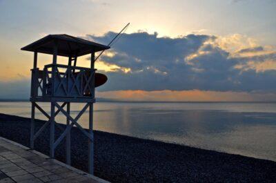 Sunset, Loutraki - Greece