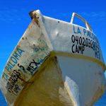 Bateau à Campeche au Mexique