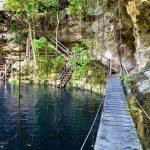 Cénote dans le Yucatan