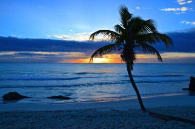 Coucher de soleil au Mexique