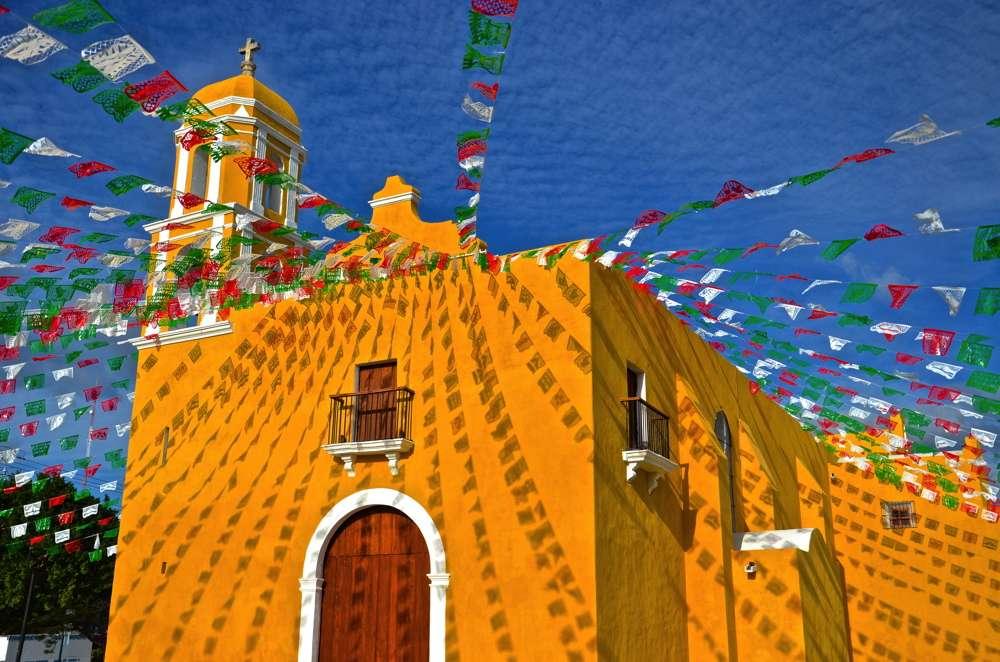 Eglise Guadalupe de Campeche