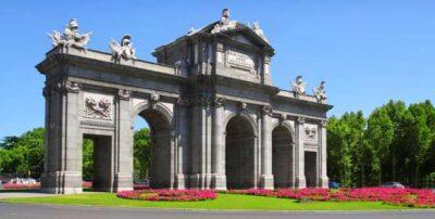 Puerta d'Alcala à Madrid