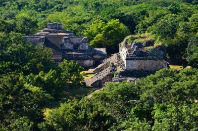 Ruines maya au Mexique