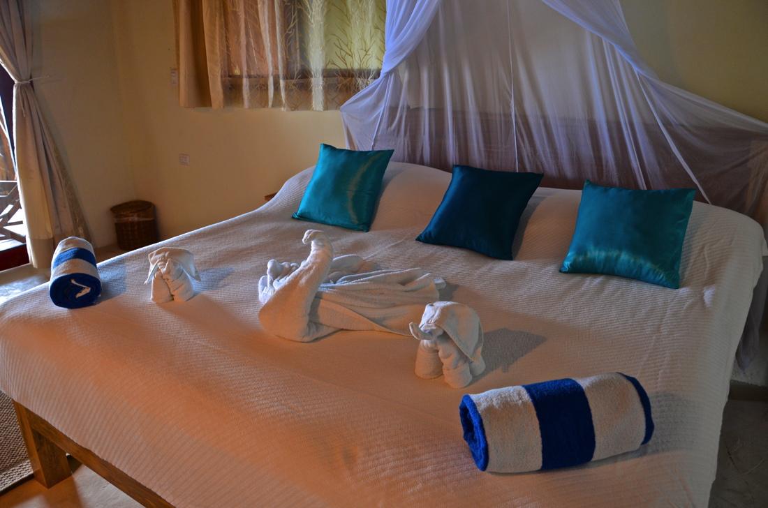 Chambre de l'hôtel Playa Canek