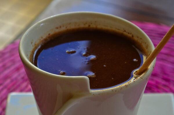 Chocolat chaud maya
