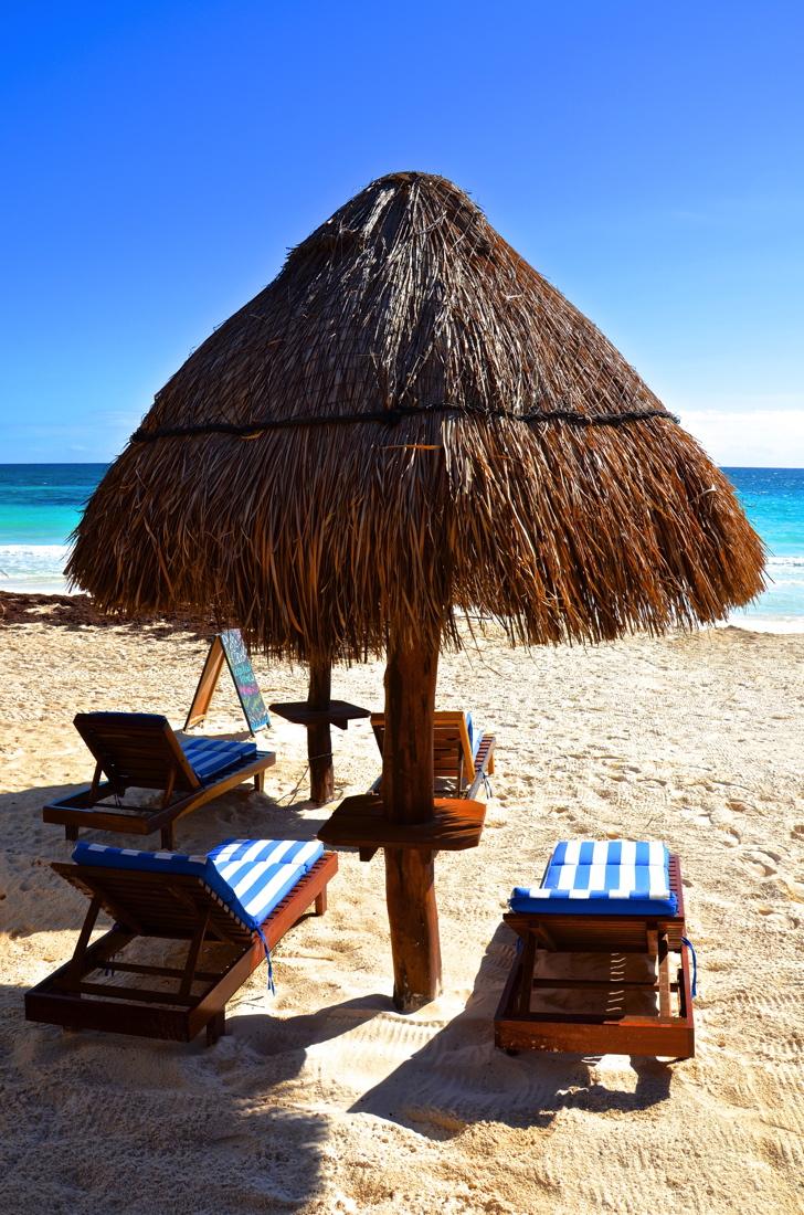 Transat à l'hôtel Playa Canek