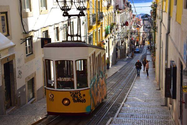 Ascenseur de Bica à Lisbonne