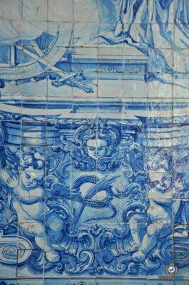 Azulejos sur la Capela Santa Catarina