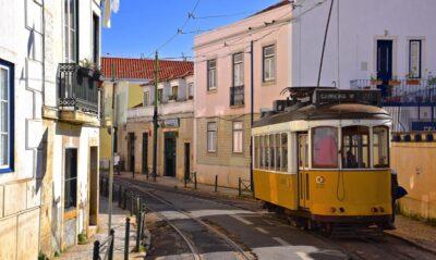 Carnet de voyage à Lisbonne: tramway 28