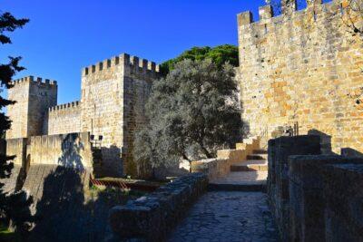Château Saint Georges à Lisbonne