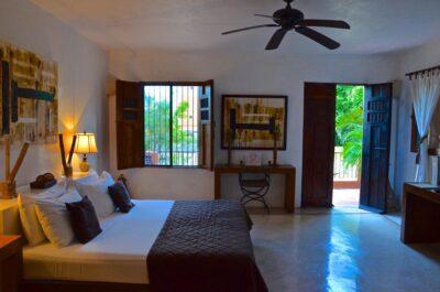 Chambre de l'hacienda Merida VIP
