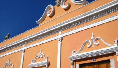 Façade de l'Hacienda Merida VIP