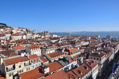 Miradouro de Santa Justa à Lisbonne