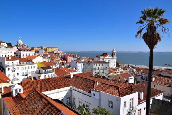 Miradouro de Santa Luzia à Lisbonne