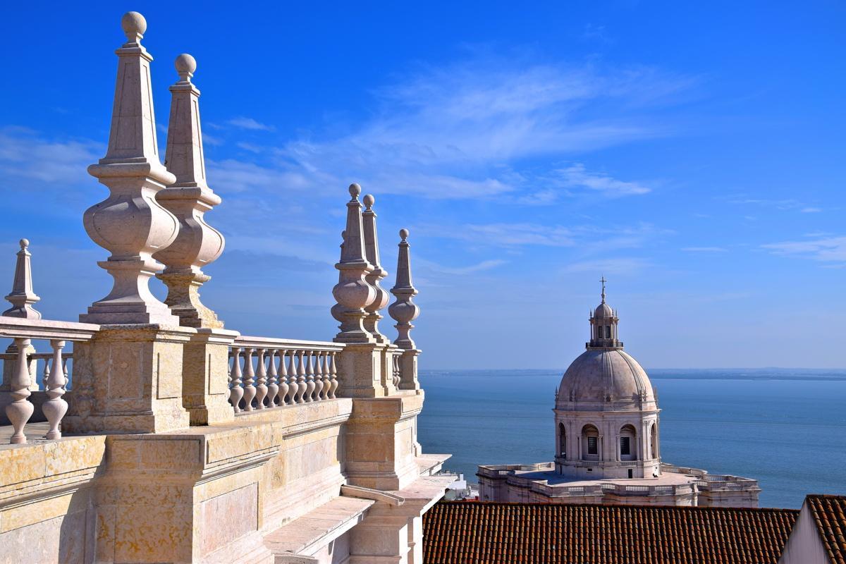 Panorama depuis la terrasse du monastère Saint Vincent de Fora