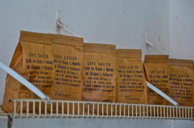 Paquets de café du Mexique