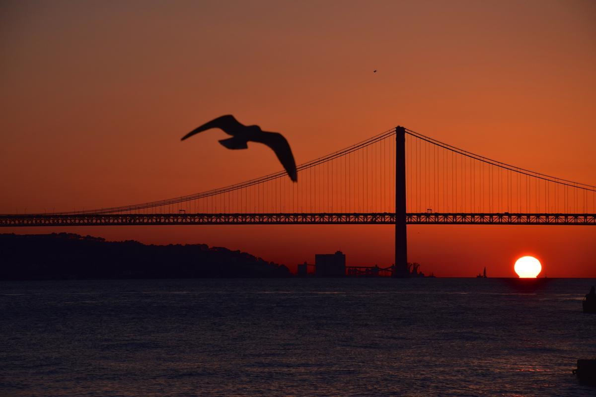 Sunset à Lisbonne