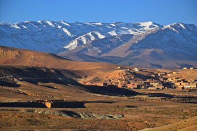 Atlas près de Midelt au Maroc