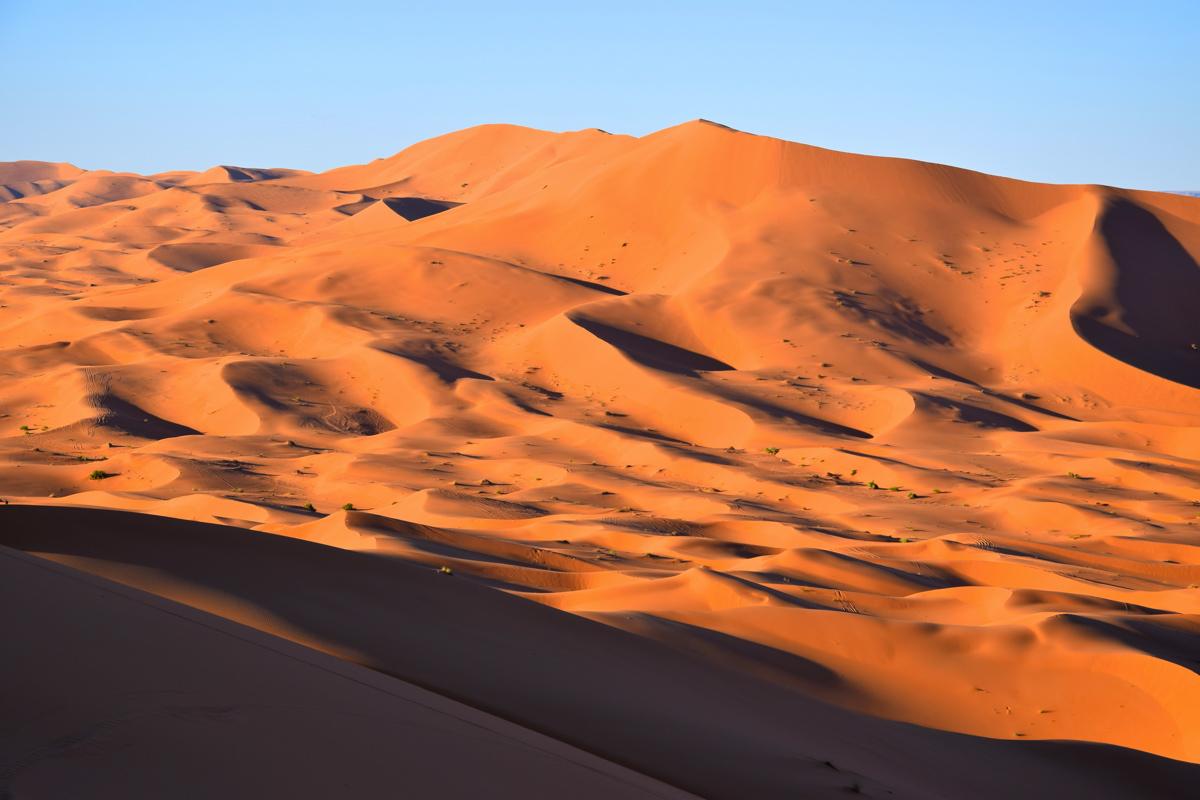 Erg Chebbi au Maroc