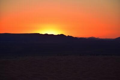Sunrise à Merzouga